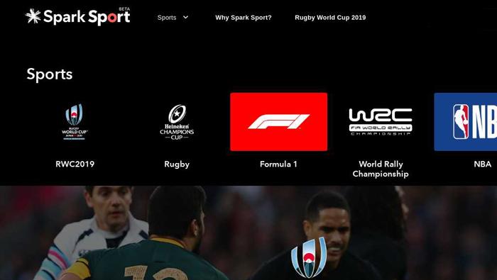 Spark Sport App